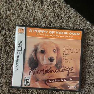 Nintendogs game